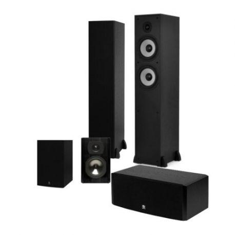 Комплект акустики Boston Acoustics CS260 II 5.0 (Mini surround) black