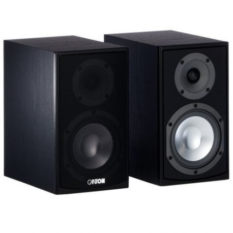 Полочная акустическая система Canton GLE 420.2 black (пара)
