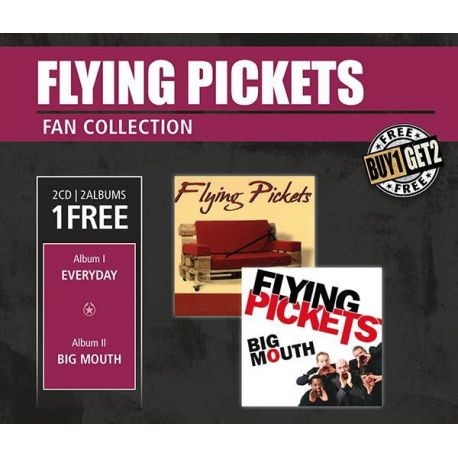 CD диск InAkustik CD Flying Pickets Everyday & Big Mouth 0169156 (2 CD)