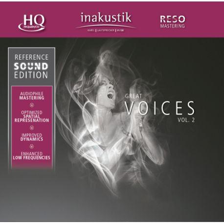 CD диск InAkustik CD Great Voices Vol. II 0167502 (1 CD)