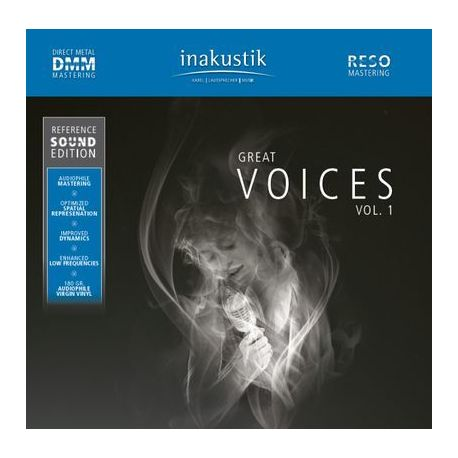 CD диск InAkustik CD Great Voices 0167501-1 (1 CD)