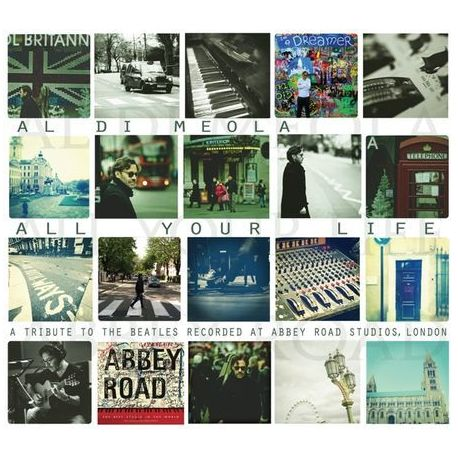 CD диск InAkustik CD Meola Al Di All your life - A Tribute To The Beatles 0169128 (1 CD)