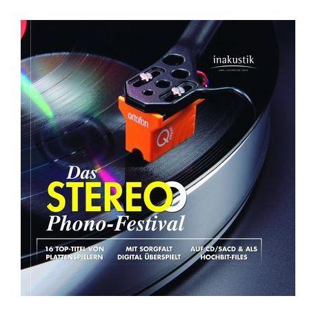 CD диск InAkustik CD SACD Das Stereo Phono-Festival 0167929 (1 SACD + 1DVD)