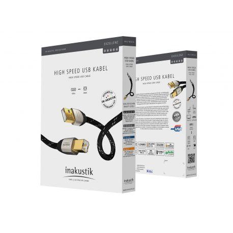 USB кабель In-Akustik Exzellenz High Speed USB 2.0 1.5m 006700015