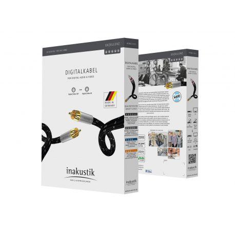 Кабель межблочный In-Akustik Exzellenz Digital Cable RCA 0.75m 006044007