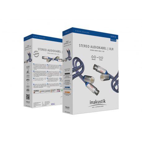 Кабель межблочный In-Akustik Premium Audio Cable XLR 0.75m 00405007