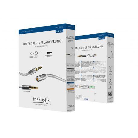 Кабель межблочный In-Akustik Premium Extension Audio Cable 7.5m 004102075
