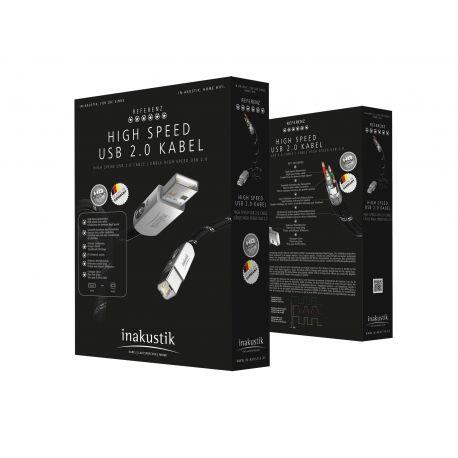 USB кабель In-Akustik Referenz High Speed USB 2.0 0.75m 007170075
