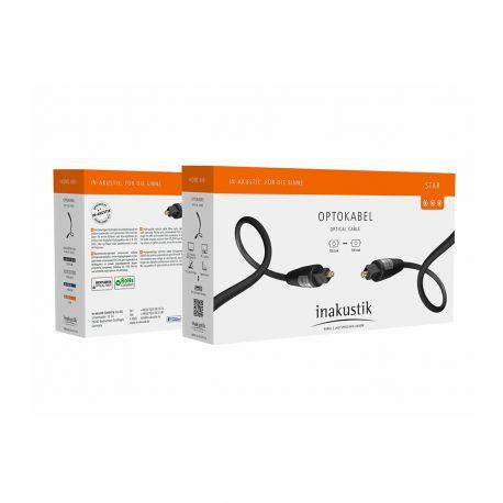 Оптический кабель In-Akustik Star Optical Cable Toslink 0.75m 00312107