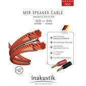 Акустический кабель In-Akustik Exzellenz LS MSR 2x4.0 mm2 2.5m Exz. BFA Banana 00604S033