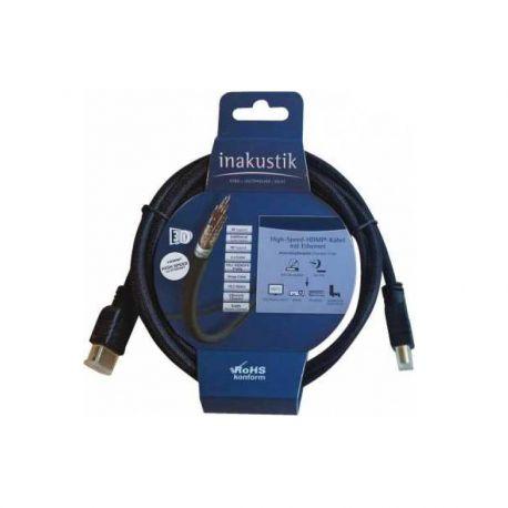 HDMI кабель In-Akustik Blue HDMI 1.5m 313990015