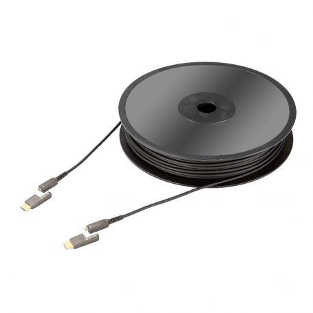 HDMI кабель In-Akustik Exzellenz Profi HDMI 2.0 optical fiber cable 18Gbps, Typ D--A, 10.0 m, 0092431010