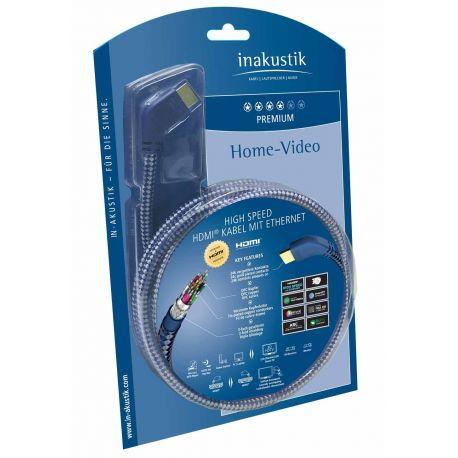 HDMI кабель In-Akustik Premium HDMI 90 8.0m 0042508