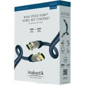 HDMI кабель In-Akustik Premium HDMI 0.75m 00423007