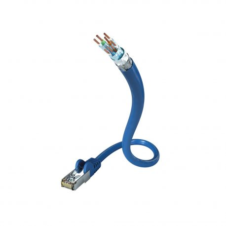 Кабель In-Akustik Profi CAT7 Ethernet Cable 3.0m S-FTP AWG 26 00925003