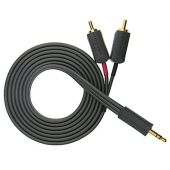 Кабель межблочный WireWorld i-World 3.5mm to 2 RCA 1.5m